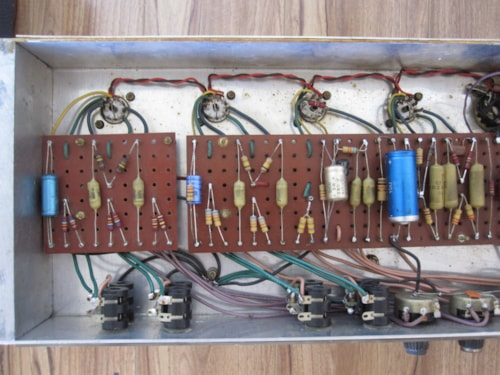 See These Circuits About Guitar Bass Guitar Super Bridge Amplifier