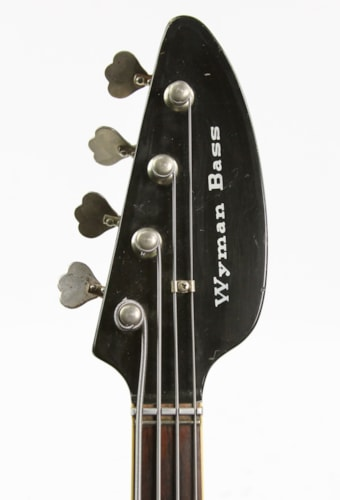 1966 Vox Wyman Bass Sunburst, Very Good, Original Hard, $1,349.00