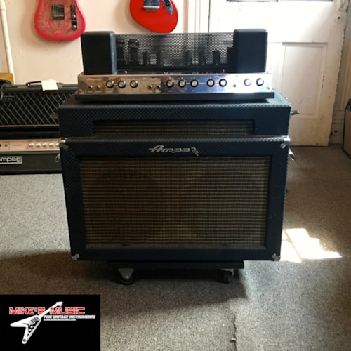 1967 Ampeg B-12-XT Portaflex Fliptop Blue, Good, $1,499.00