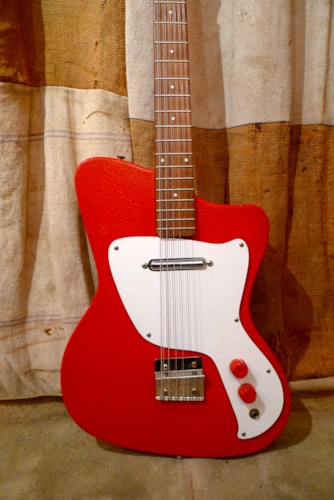 1967 Danelectro Hawk 12 String Red, Excellent, $1,600.00
