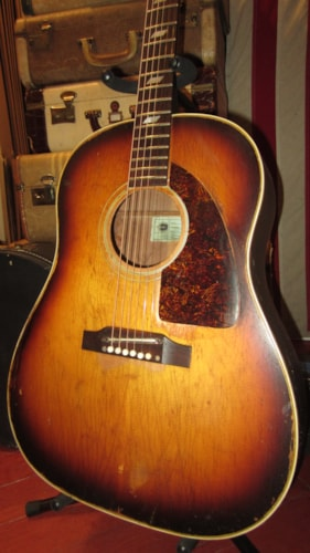 1967 Epiphone FT79 Texan Sunburst