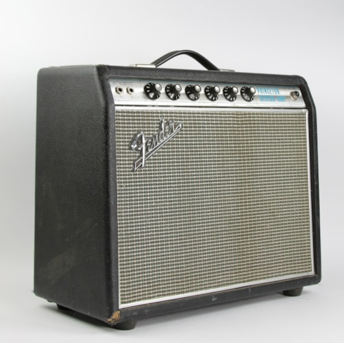 1967 Fender® Princeton® Reverb drip edge Silverface, Very Good, $1,799.00