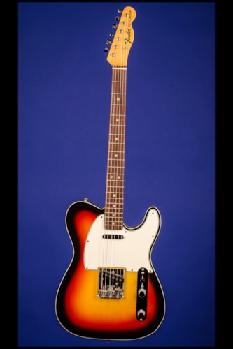 1967 Fender Telecaster Custom Sunburst Three-tone, Mint, Original Hard, $21,500.00