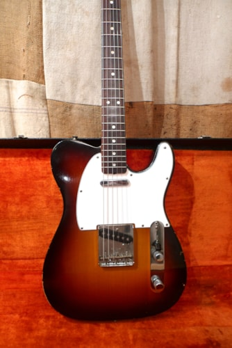 1967 Fender® Telecaster® Sunburst - Refin, Very Good, Original Hard, $5,800.00