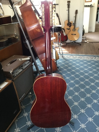 1967 Gibson B25-12 12-String Acoustic Guitar Cherry Sunburst, Excellent, Call For Price!