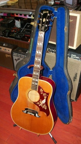 1967 Gibson Dove Natural, Excellent, Original Hard, $3,495.00