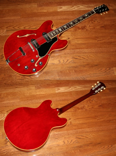 1967 Gibson ES-330 TDC Cherry Red, Excellent, Hard, $4,595.00