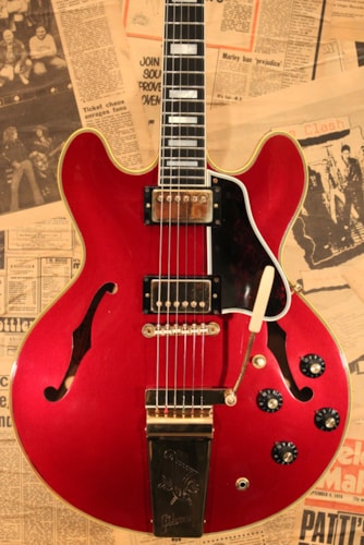 1967 Gibson ES-355TD Sparkling Burgandy Finish Mint Condition