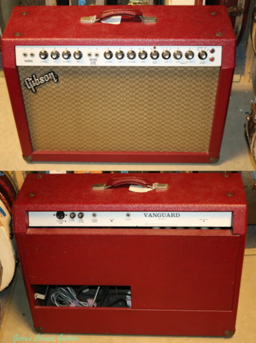 1967 Gibson Gibson RVT L Vanguard  (#GAM0026) Red, Excellent, $1,495.00