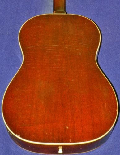 1967 Gibson LG-1 Sunburst, Very Good, Original Soft