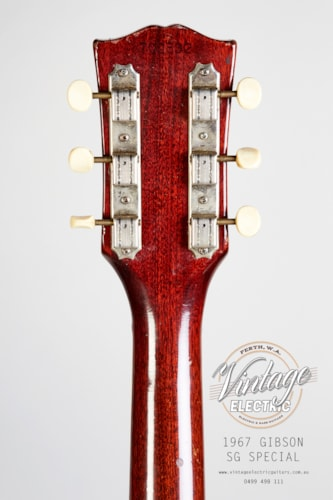 1967 Gibson SG Special Cherry Red