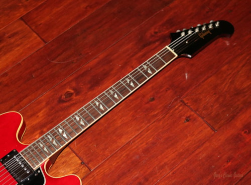 1967 Gibson Trini Lopez (#GIE0903) Cherry Red, Excellent, Original Hard, $6,395.00
