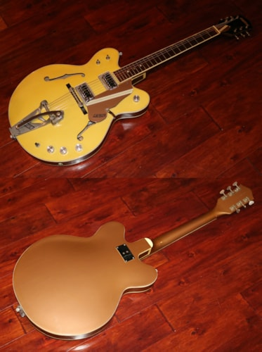 1967 Gretsch Rally Bamboo Yellow, Very Good, Soft