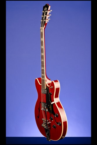 1967 Guild® Starfire™ V Cherry Mahogany, Excellent, Hard