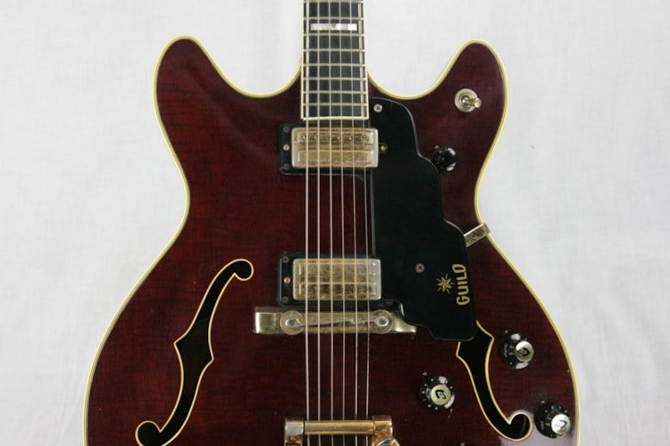 1967 Guild Starfire VI w/ Tags! RARE BROWN! SF 6 Made in USA! 1960's Top-of-the-line Model!
