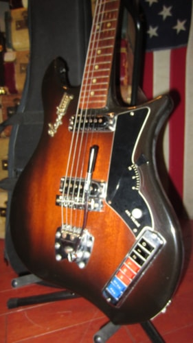 1967 Hagstrom Impala Sunburst, Excellent, Original Soft