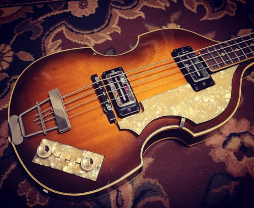 "1967 Hofner 500/1 ""Beatle"" Bass Brunette"