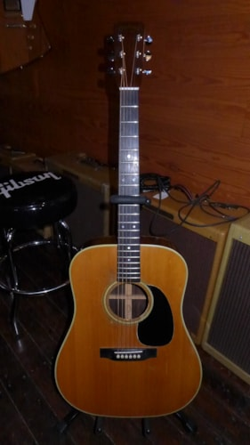 1967 Martin D-28 Natural, Very Good, Original Hard