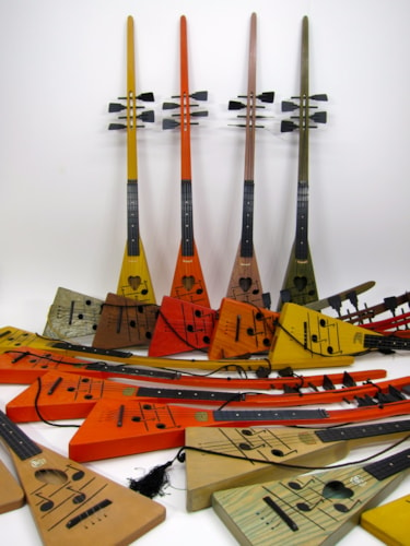 1967 Swagerty & Petersen Novelty Ukes Singing Treholipee Surfalele Kookalaylee Orange, Red, Brown others, Near Mint, $200,300.00