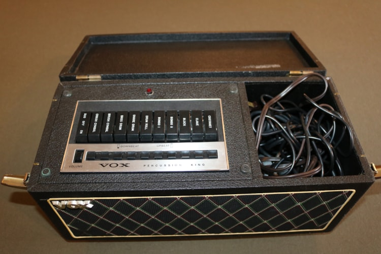 1967 Vox Percussion King Excellent, $1,595.00