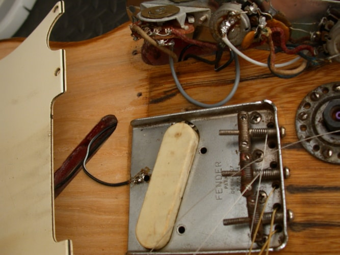 1968 Fender® Clarence White Telecaster® B-Bender Prototype Unfinished, Excellent, , Call For Price!