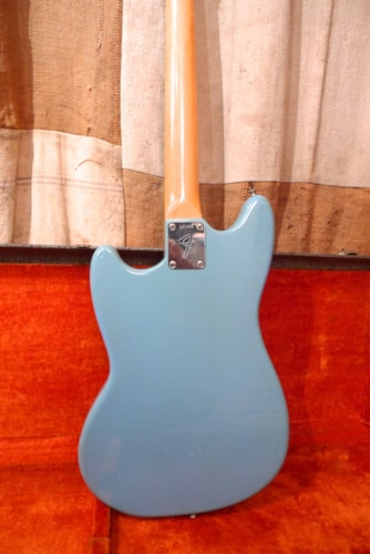 1968 Fender Mustang Blue, Very Good, Original Hard