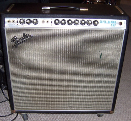 1968 FenderR Super ReverbR Silverface Excellent 119500