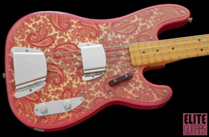 1968 Fender Telecaster Bass PAISLEY RED