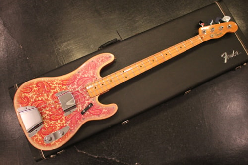 1968 Fender Telecaster Bass Pink Paisley