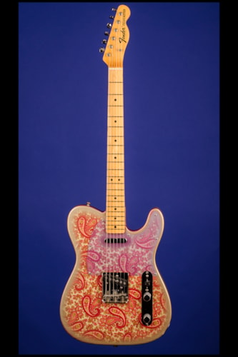 1968 Fender Telecaster (Pink Paisley) Maple-Cap Pink Paisley, Excellent, Original Hard, $18,500.00