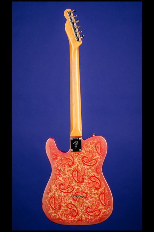 1968 fender telecaster pink paisley maple cap pink paisley guitars electric solid body. Black Bedroom Furniture Sets. Home Design Ideas