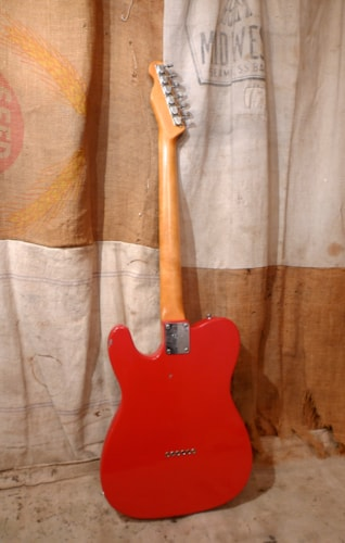 1968 Fender Telecaster Red - Refin