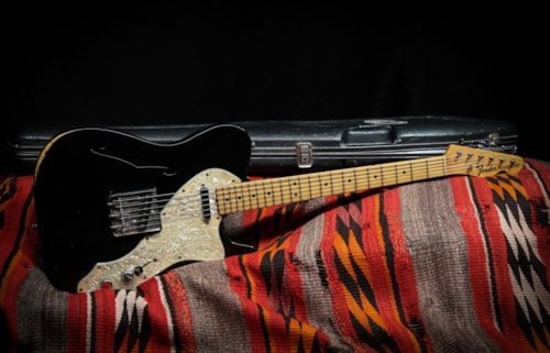 1968 Fender Telecaster Thinline Black