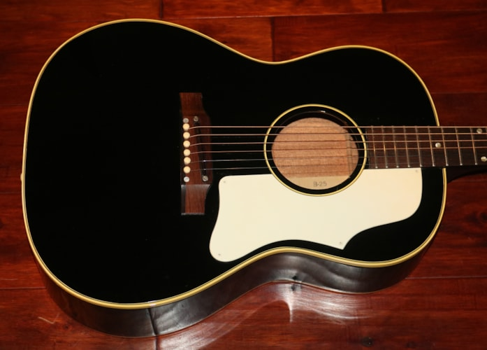 1968 Gibson  B-25  Black, Near Mint, Original Soft, $4,995.00