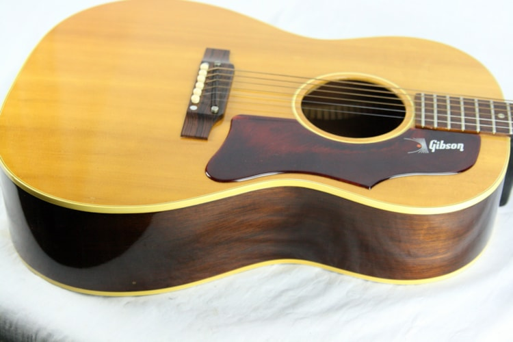 1968 Gibson B-25 Natural VERY CLEAN! X-Braced Small-Body Acoustic Guitar! LG-2 L-00 type