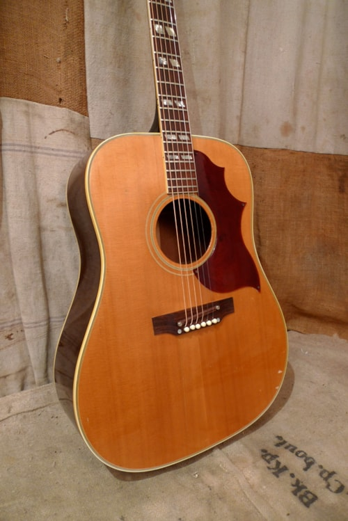 1968 Gibson Country Western Natural > Guitars Acoustic ...