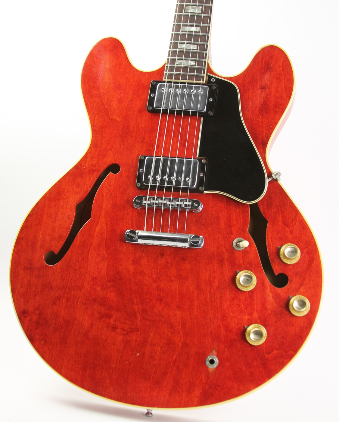 1968 Gibson Es 335 Cherry Guitars Electric Semi Hollow Body Wiring Harness Thunder Road