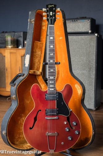 1968 Gibson ES-335TD Sparkling Burgundy, Very Good, Original Hard, $5,995.00