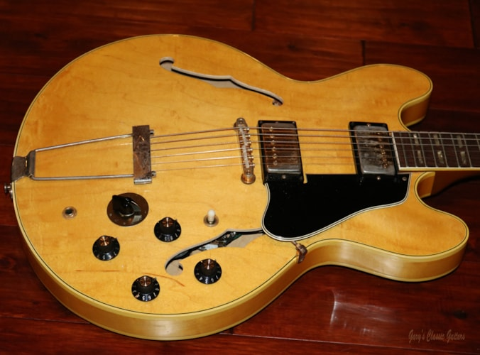1968 Gibson ES-345  (#GIE0870) Blonde, Excellent, Original Hard, $14,900.00