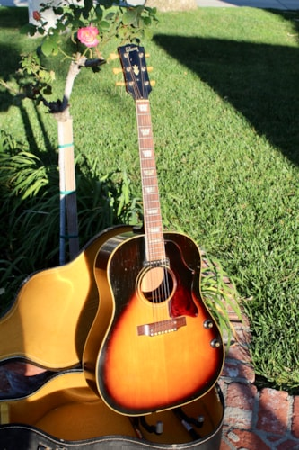 1968 Gibson J 160E Acoustic Electric Guitar With Case