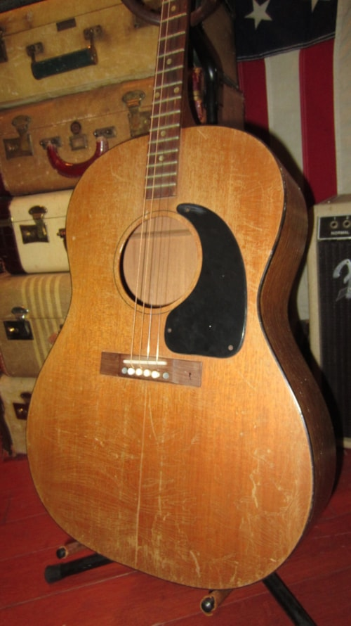 Phone Number To Ups >> 1968 Gibson LG-0 T Tenor Acoustic Guitar Natural Mahogany ...