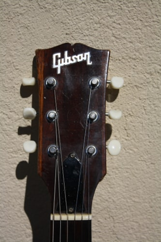 1968 Gibson Melody Maker D Walnut, Very Good, Hard, $1,795.00