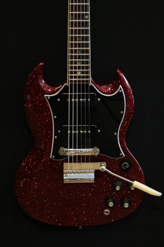 1968 Gibson SG Special Sparkling Red