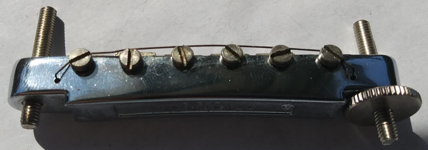 1968 Gibson Tune o matic bridge Excellent
