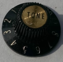 1968 Gibson Les Paul Custom witch hat knob tone