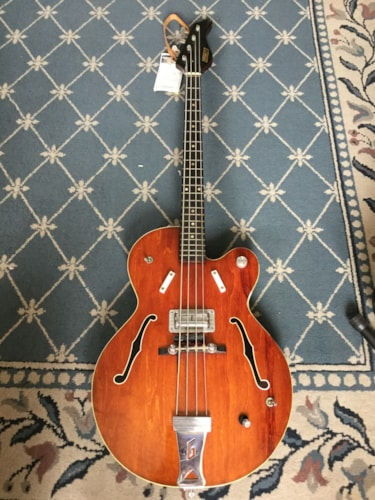 1968 Gretsch 6071 Bass Guitar, Excellent, $1,699.00