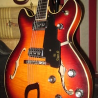 1968 Guild Starfire IV with Dearmond Pickups