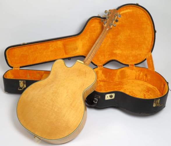 1968 Guild® X-500 Blonde, Excellent, Original Hard