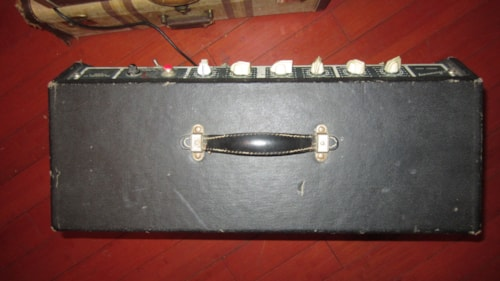 "1968 Harmony H-306 A Combo Amp 1 x 12"" Jensen Grey, Excellent, $795.00"