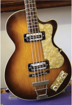 1968 HOFNER Club Bass 500/1